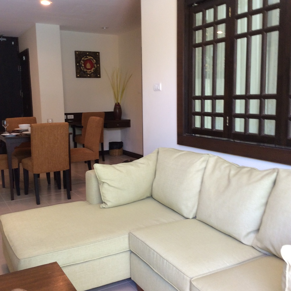 Koh Samui Apartment for Sale, Foreign Freehold Apartment for Sale, lounge area,