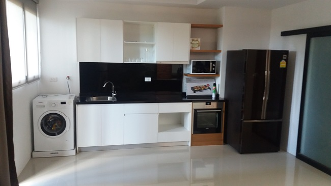 Koh Samui Townhouse for sale, Sea view town house for sale, kitchen,