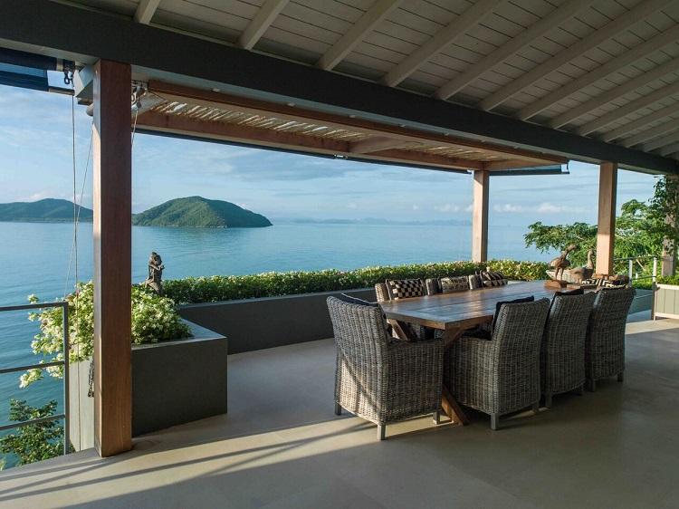 Koh Samui Luxury Villa for Sale, Ocean front villa for sale