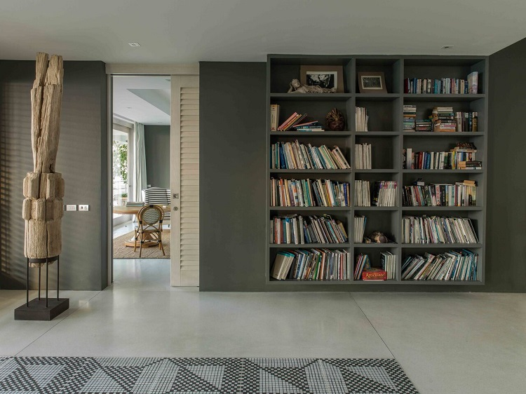 Koh Samui Luxury Villa for Sale, Ocean front villa for sale, reading room,