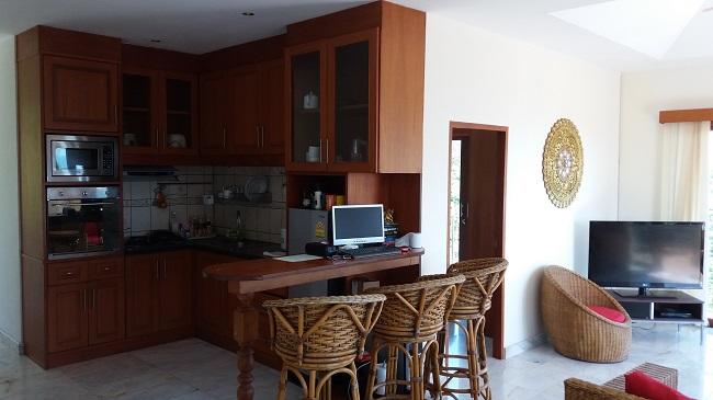Ko Samui villa for sale, Sea view villa for sale, Villa with apartment for sale, Kitchen,