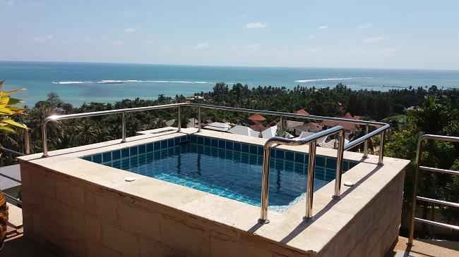 Ko Samui villa for sale, Sea view villa for sale, Villa with apartment for sale, jacuzzi,