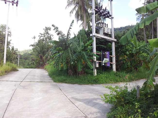 Koh Samui Land for sale, Hillside land for sale,
