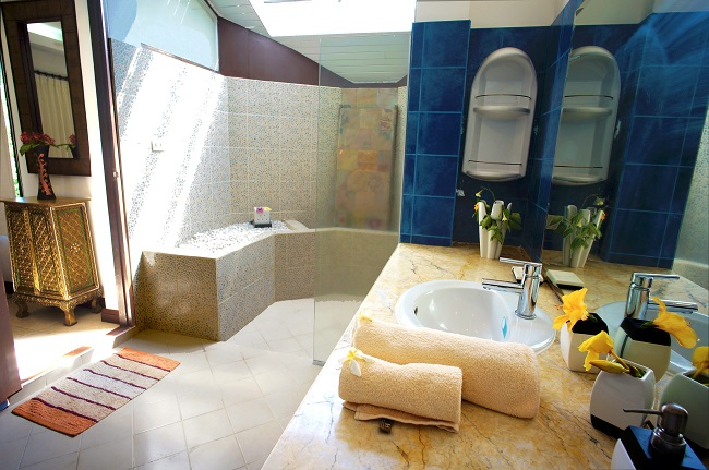 Koh Samui villa for sale, pool villa for sale, Villa Mango for sale, bathroom,