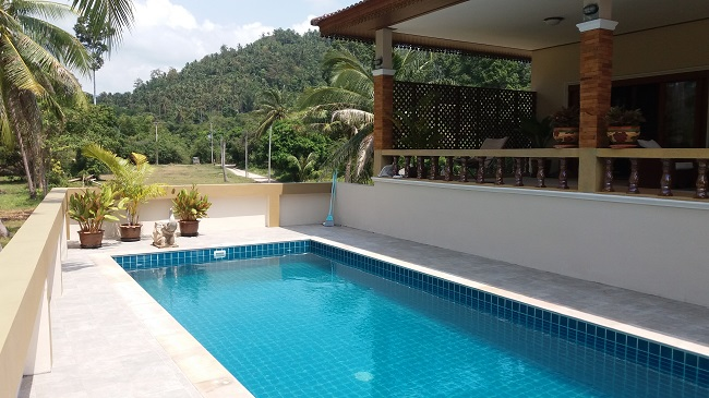 Koh Samui Villa for Sale, Villa near beach for sale, apartment, swimming pool,