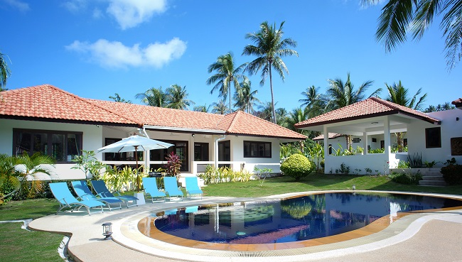 Koh Samui villa for sale, pool villa for sale, Villa Mango for sale, pool,
