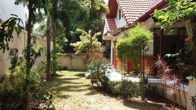 Koh Samui Bungalow for sale, 2 bedroom bungalow for sale, front view,
