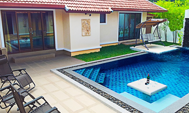 Koh Samui bungalow for sale, 4 bedroom bungalow for sale, Villa Lychee for sale, pool,