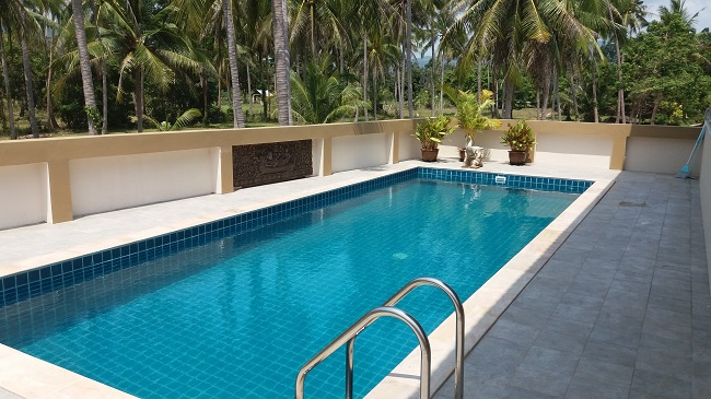Koh Samui Villa for Sale, Villa near beach for sale, pool, coconut palms,