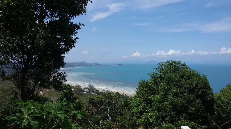 Koh Samui Hillside land for sale, 36 Rai sea view land for sale,