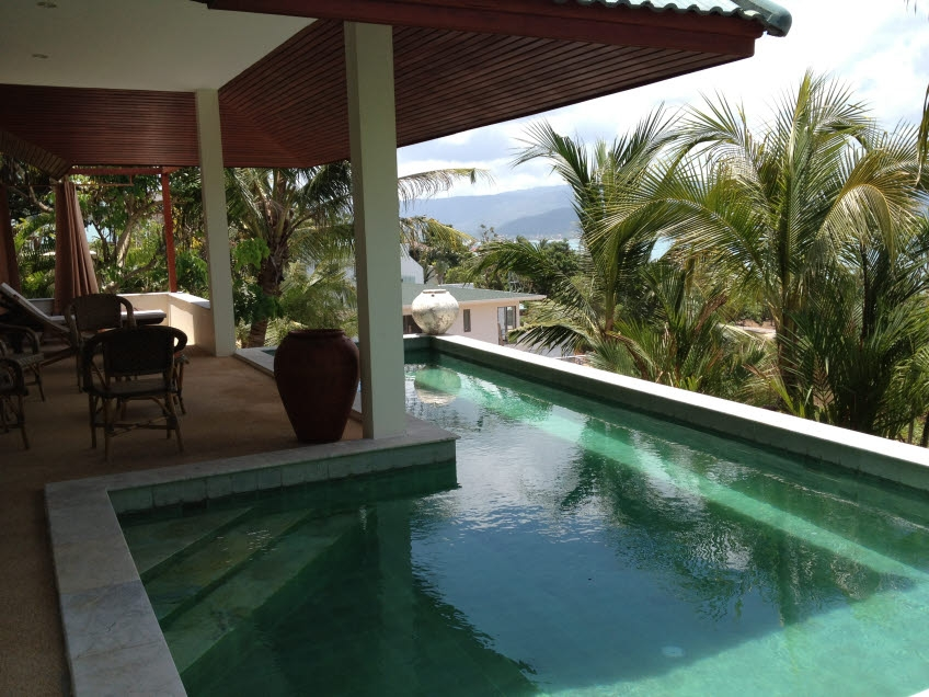 Koh Samui sea view villa for sale, Koh Samui pool villa for sale,