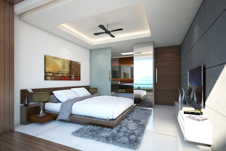 Koh Samui New Villa For Sale, Sukkho Villa for sale, two bed villa for sale, bedroom,