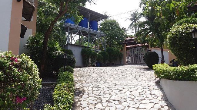 Koh Samui Residential Investment for Sale, Investment property for sale, access and water tanks,