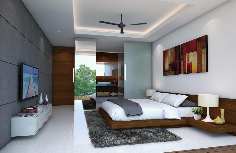 Koh Samui new Villa for Sale, Sukkho Villa for Sale, Sea View Villas For sale, bedroom,