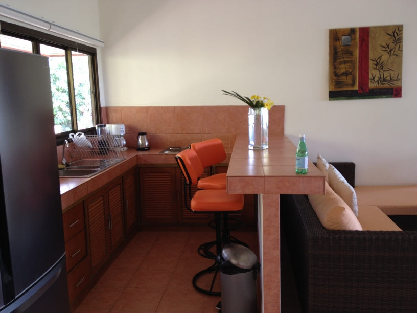 Koh Samui sea view villa for sale, Koh Samui pool villa for sale, kitchen,