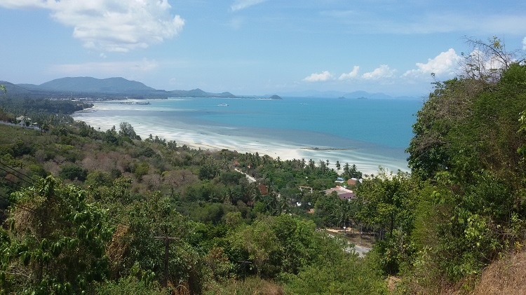 Koh Samui Hillside land for sale, 36 Rai sea view land for sale, sea view,
