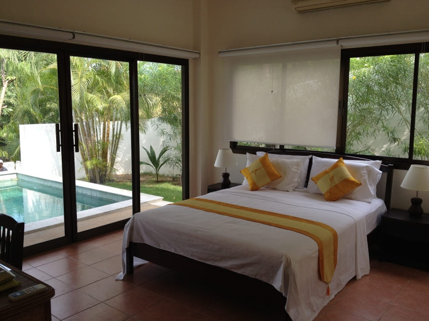 Koh Samui sea view villa for sale, Koh Samui pool villa for sale, bedroom 1,