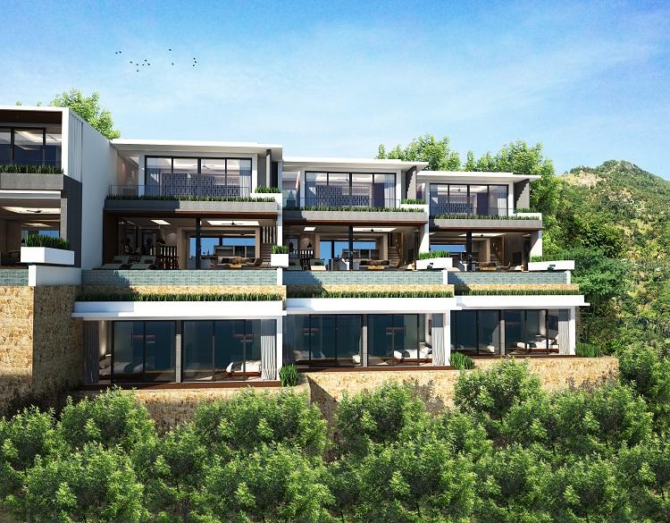 Koh Samui new Villa for Sale, Sukkho Villa for Sale, Sea View Villas For sale,