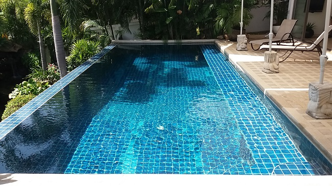 Pool villa in Koh Samui close to Fisherman's Village for sale, swimming pool,