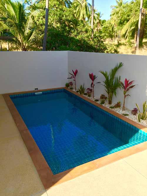 New villas for sale in Koh Samui, Samui Emerald Villas, pool,