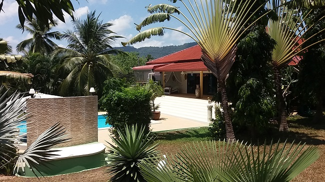 Koh Samui Villa for sale, 6 bedroom villa for sale, Pool villa for sale, garden,