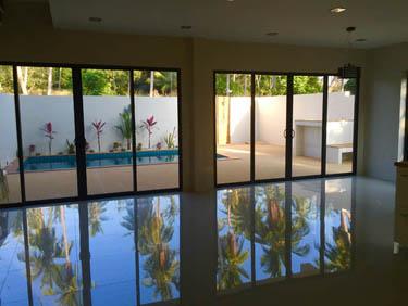 New villas for sale in Koh Samui, Samui Emerald Villas, living room,