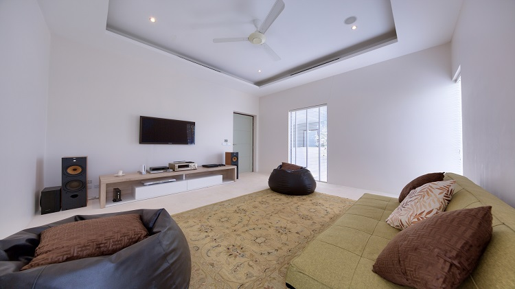 Koh Samui Luxury Villa for sale; Koh Samui Beach front Villa for Sale, Sitting Room or Bedroom 4