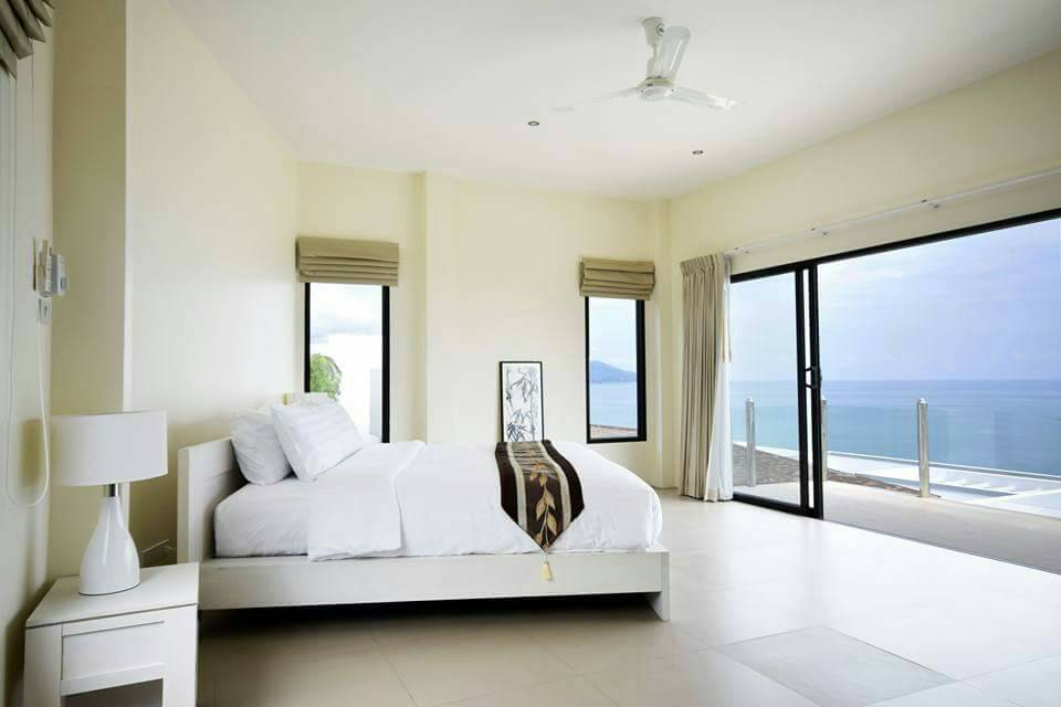 Koh Samui ocean view villa for sale, Ko Samui luxury villa for sale, Bedroom 2,