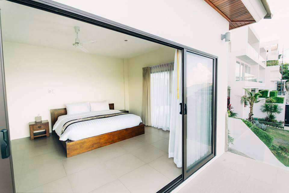 Koh Samui ocean view villa for sale, Ko Samui luxury villa for sale, Bedroom 3,