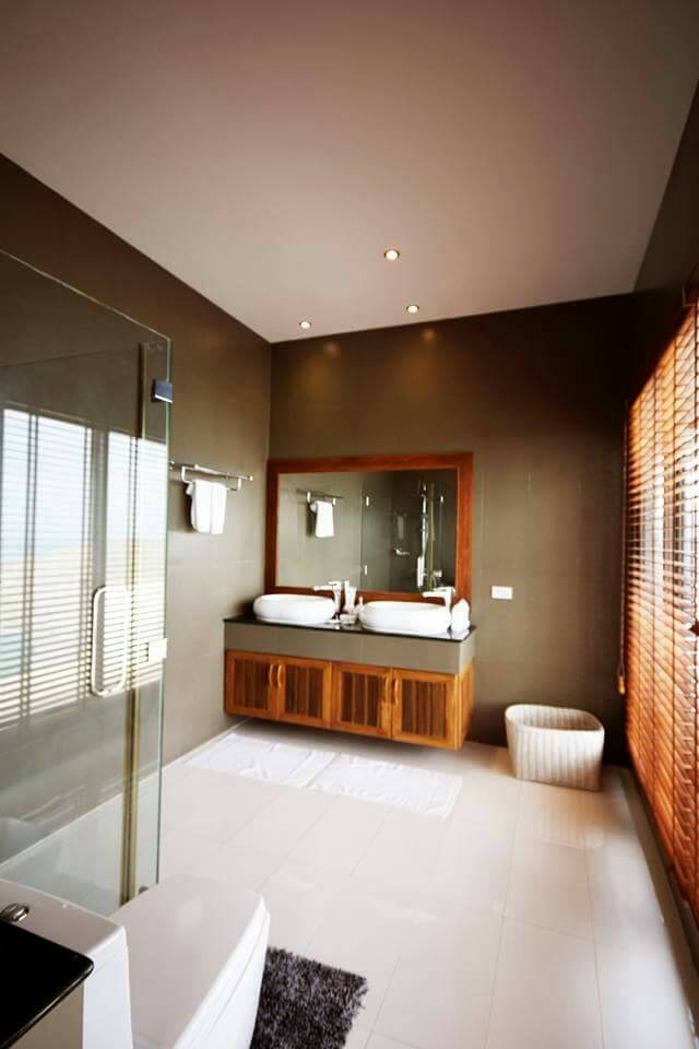 Koh Samui ocean view villa for sale, Ko Samui luxury villa for sale, Typical Bathroom,