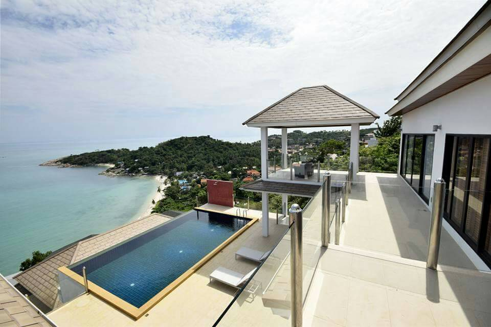 Koh Samui ocean view villa for sale, Ko Samui luxury villa for sale, Ocean View villa in Choengmon,