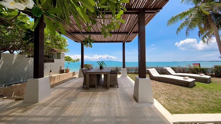 Koh Samui Luxury Villa for sale; Koh Samui Beach front Villa for Sale, Sala,