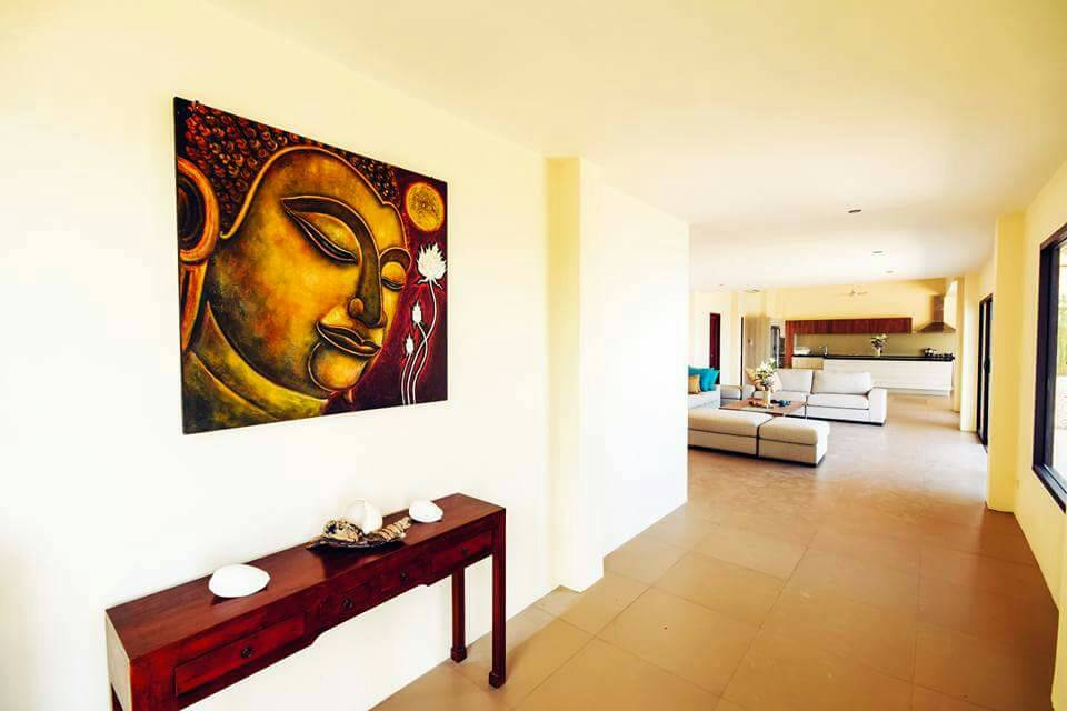 Koh Samui ocean view villa for sale, Ko Samui luxury villa for sale, Entrance Hall