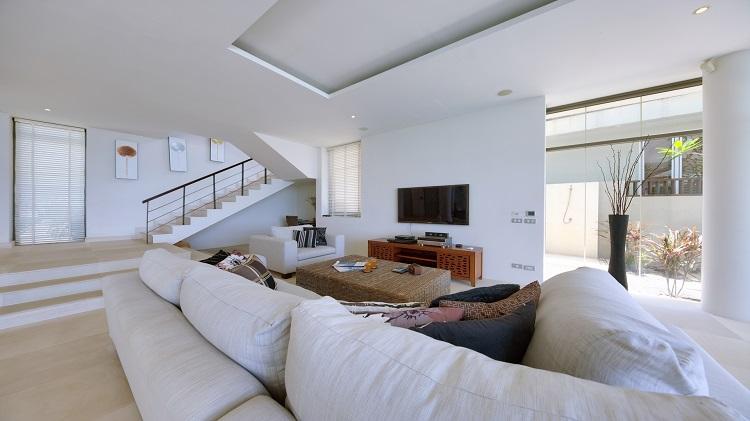 Koh Samui Luxury Villa for sale; Koh Samui Beach front Villa for Sale, Lounge