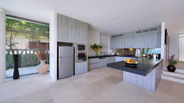 Koh Samui Luxury Villa for sale; Koh Samui Beach front Villa for Sale, Kitchen