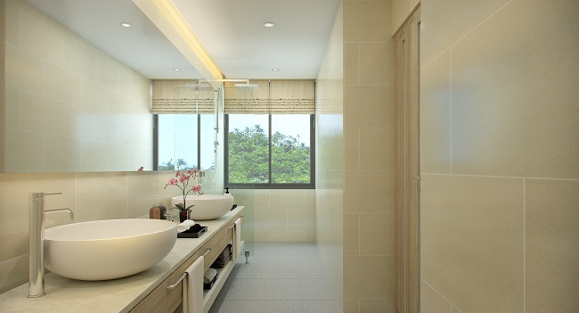 Koh Samui New villa for sale, New sea view villa for sale in Koh Samui, Master Bathroom,