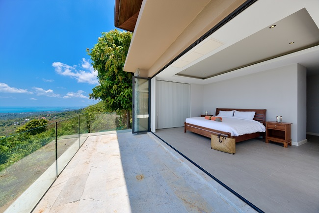 Koh Samui Luxury Villa for sale, Angthong Hills villa for sale, Bedroom 2