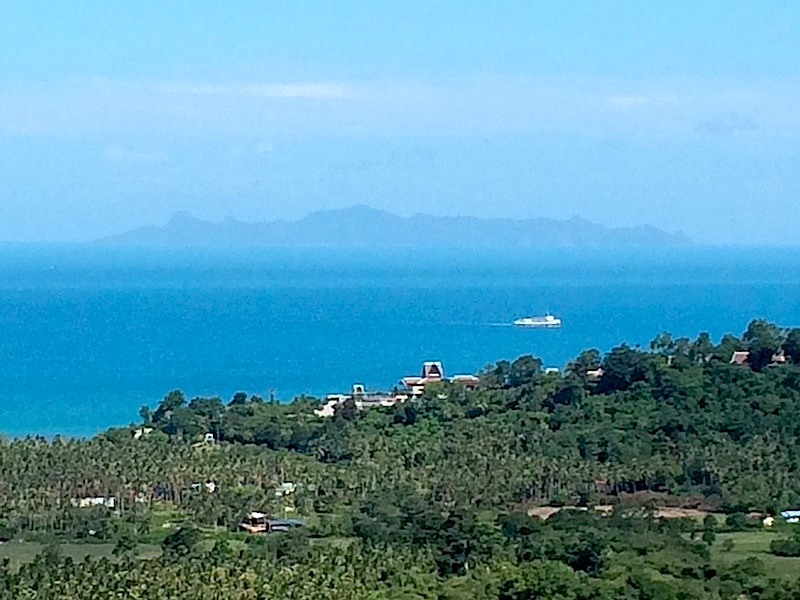 Koh Samui Sea View villa for Sale, Five Islands view villa for Sale, View from balcony