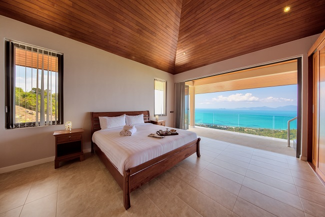 Koh Samui Luxury Villa for sale, Angthong Hills villa for sale, Bedroom 3