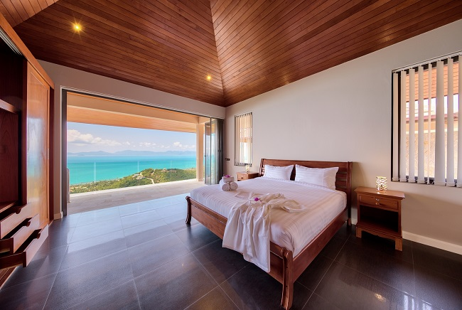 Koh Samui Luxury Villa for sale, Angthong Hills villa for sale, Bedroom 4