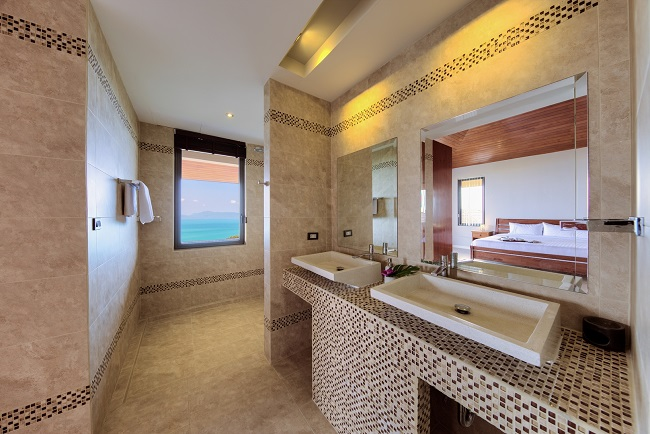 Koh Samui Luxury Villa for sale, Angthong Hills villa for sale, Bathroom