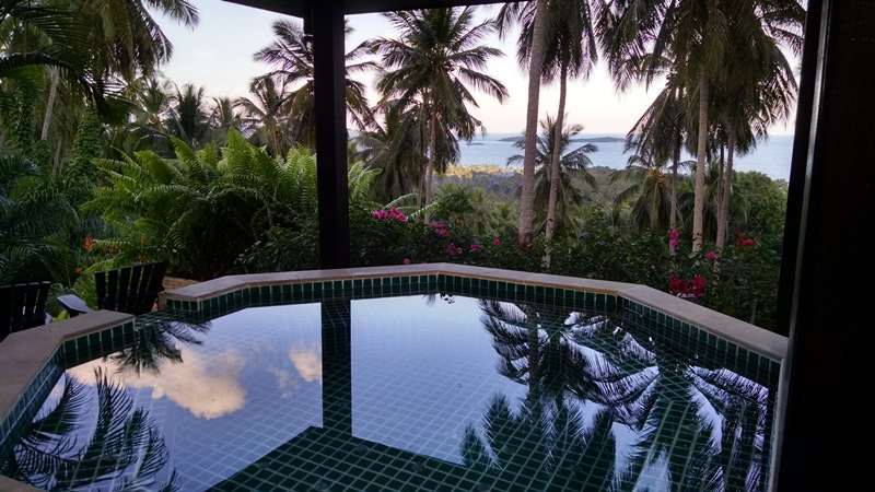 Koh Samui Villa For sale, sea view villa for sale, four bedroom villa for sale, Spa view