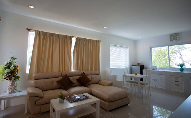 Koh Samui Hotel for sale, Villa hotel for sale in Koh Samui, Reduced price for quick sale, living room,