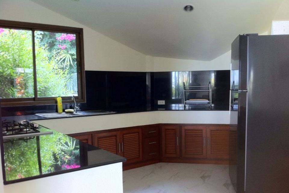 Koh Samui sea view villa for sale, Ko Samui Properties, kitchen,