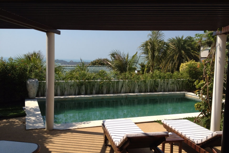 Koh Samui sea view villa for sale, Ko Samui Properties, pool,