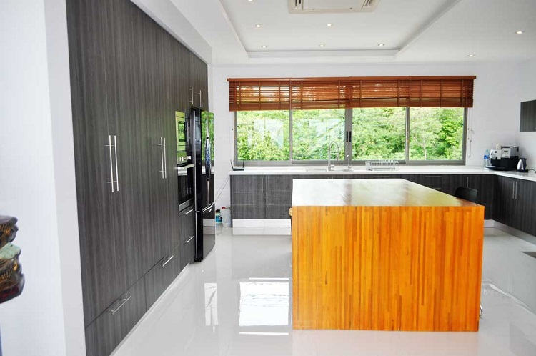 Koh Samui Villa for sale, New Villa for Sale, Sea view villa for Sale, kitchen