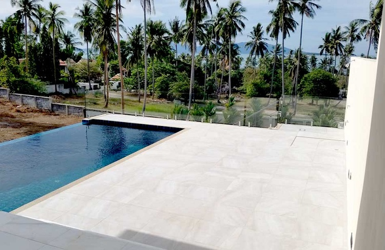 Koh Samui Villa for sale, New Villa for Sale, Sea view villa for Sale, pool-deck