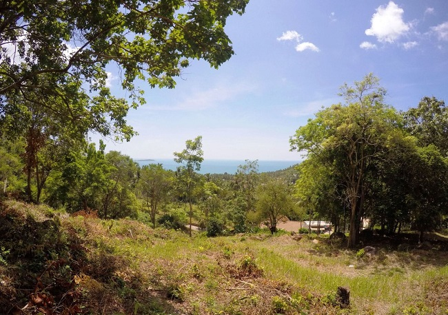 Koh Samui land for sale, Chaweng Noi land for sale, view,