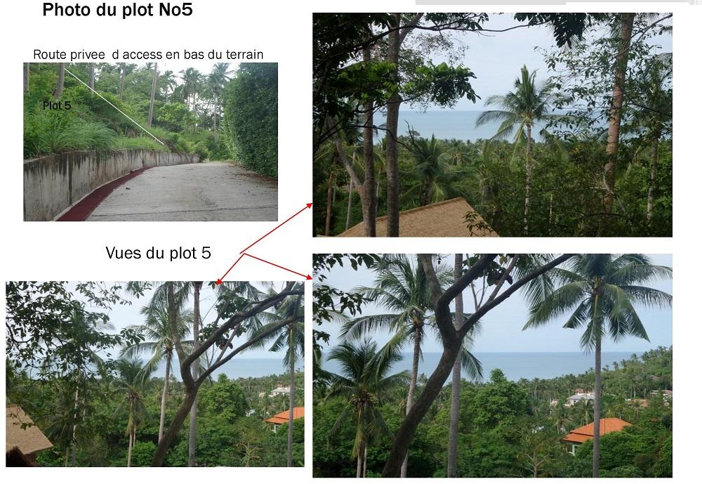 Koh Samui land for sale, Chaweng Noi land for sale, plot 5,