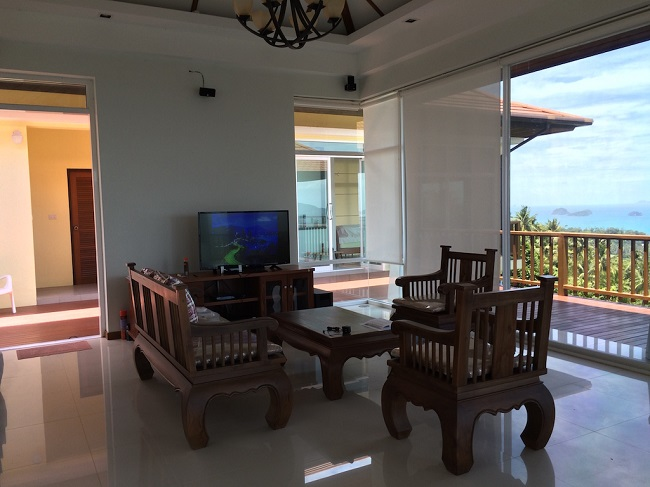 Ko Samui Properties, Sea View villa for Sale, Five Islands view villa for Sale,
